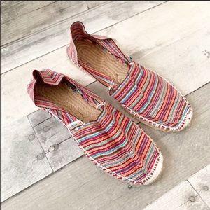 Alpargatus | Multicolored Striped Espadrilles 37
